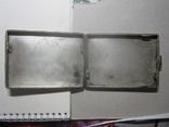 Портсигар.серебро,121,77 гр., фото №5
