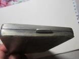 Портсигар.серебро,121,77 гр., фото №7