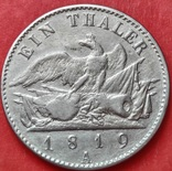 1 Талер 1819 Пруссия. Фридрих-Вильгельм III., фото №5