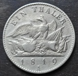 1 Талер 1819 Пруссия. Фридрих-Вильгельм III., фото №7