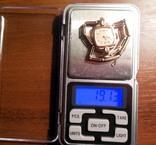 Золотые часы Заря 583 пробы с браслетом СССР, фото №5