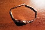 Золотые часы Заря 583 пробы с браслетом СССР, фото №6