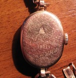 Золотые часы Заря 583 пробы с браслетом СССР, фото №7
