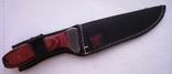 Охотничий нож №1 с чехлом Columbia, фото №3