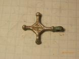 Крест кр     копия серебро, фото №3