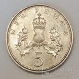 Велика Британія 5 нових пенсів, 1978