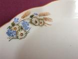 Блюдо Полевые цветы Рига., фото №5