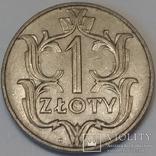 Польща 1 злотий, 1929