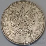 Польща 1 злотий, 1929 фото 2