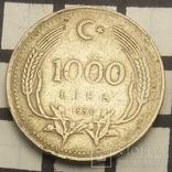 Туреччина 1.000 лір, 1990