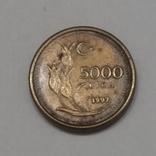 Туреччина 5.000 лір, 1997