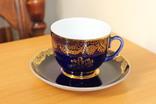 Чайная пара ЛФЗ 8 Марта кобальт, фото №2