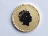 25 долл. золото 1/4 унции(999.9), фото №3