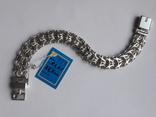 Серебряный браслет (Рамзес), фото №3