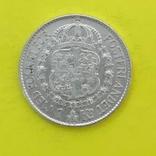 Швеція 1 крона, 1936р. Срібло., фото №3