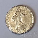 Франція ½ франка, 1983 фото 2