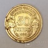 Франція 50 сантимів, 1939 фото 1