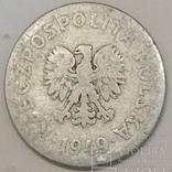 Польща 50 грошей, 1949 фото 2