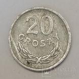 Польща 20 грошей, 1975