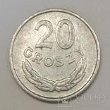 Польща 20 грошей, 1967