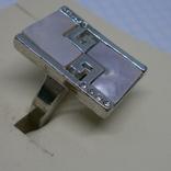 Кольцо со вставками под перламутр, фото №3