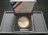 США 1 доллар 1991 ПРУФ серебро Гора Рашмор