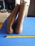 Резиновые, плотные сапожки, 41-40 размер, фото №3