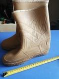 Резиновые, плотные сапожки, 41-40 размер, фото №4