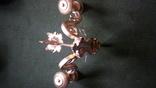 Бра на три лампы с абажурами, фото №11