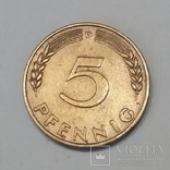 Німеччина 5 пфенігів, 1950