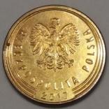 Польща 5 грошей, 2017 фото 2