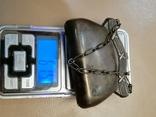 Дамский кошелек 84 пробы Серебро, фото №3