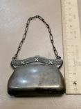Дамский кошелек 84 пробы Серебро, фото №9
