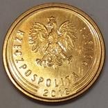 Польща 2 гроша, 2018 фото 2