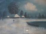 """Зима"" х.м.,48х80 см, фото №2"