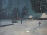 """Зима"" х.м.,48х80 см, фото №4"