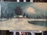"""Зима"" х.м.,48х80 см, фото №12"