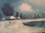 """Зима"" х.м.,48х80 см, фото №13"