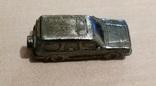 Машинка металл, цельнометаллический джип 50 их годов, фото №4