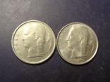 1 франк Бельгія 1966 (два різновиди), фото №3
