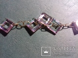 Ожерелье Сваровски (ручная работа)., фото №4