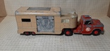 Машинка Matchbox king size K18 dodge tractor+Articulated Horse VAN .made in England, фото №5