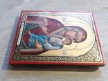 Икона Божией Матери «Святогорская» Богородица Святогорская.  Золотофонка., фото №10