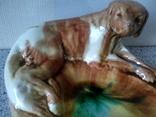 Пепельница с охотнечьей собакой 60-е, фото №13