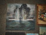 Картины, масло - двп. (6 картин), фото №11