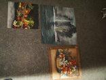 Картины, масло - двп. (6 картин), фото №12