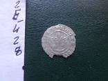 Полугрош  1509  Польша  серебро   (Й.2.8)~, фото №4