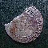 Полугрош  1558  Польша  серебро   (Й.2.10)~, фото №2