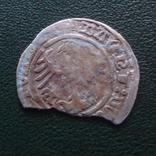 Полугрош  1514  Польша  серебро   (Й.2.14)~, фото №3