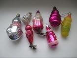 7 елочных игрушек одним лотом., фото №3